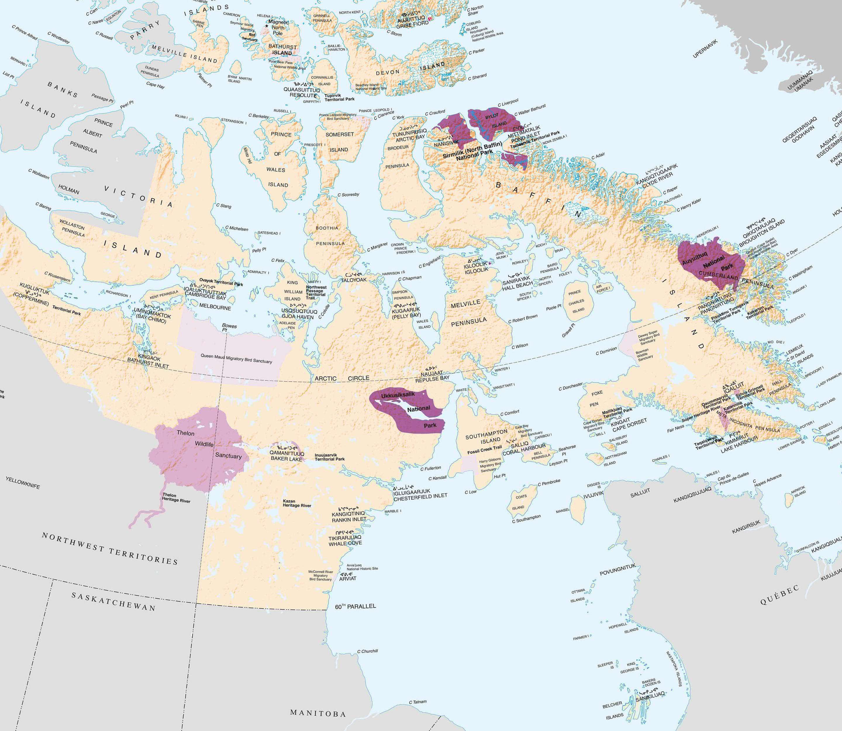 Canadian Inuit Territories