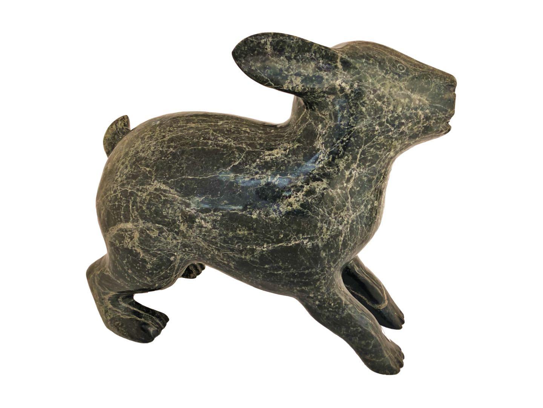Qikirpik - Arctic Hare - [Back] - Stock #: 1068